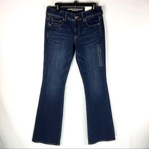 American Eagle Kick Bootcut Jeans Sz 10 Long